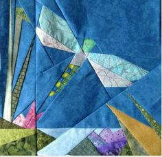 Dragonfly quilting pattern