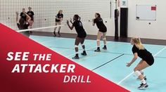 Our videos of volleyball defense drills can help get your team to the next level. At any level, learning new volleyball team defense drills is valuable. Volleyball Passing Drills, Volleyball Skills, Volleyball Practice, Volleyball Clubs, Volleyball Training, Volleyball Workouts, Coaching Volleyball, Basketball Drills, Volleyball Players