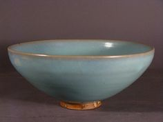 A large Junyao bowl, Song Dynasty (960 to 1127	 China)