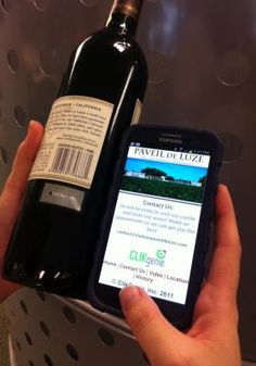 Checking Labels: The Wine Authentication App that Also Promotes the Brand | NFC Times – Near Field Communication and all contactless technology.