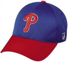 """2013 MLB MESH Flex-Fit Philadelphia Phillies Lg/XL Alternate Blue/Red Hat Cap Stretch Fitted Heavy . $17.99. We are your team supplier with team qtys available. Another popular seller with retail of over $24.99. Great for all leagues.              6 panel     Structured     (B)Pro Style Mid Crown Profile     Stretch Fit     Premium Jersey Mesh     Polyester     Pre-curved Visor     Q3® Sweatband     3D Replica Logo     TEAM MLB Logo on Left Temple  S/M Fits size 6 1/2""""..."""