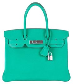b632f8ea90db Herms 30m Custom Chevre Birkin Menthe Tote Bag. Get one of the hottest  styles of