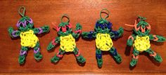 Teenage Mutant Ninja Turtle Party Favors Rainbow Loom