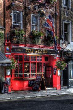 The Globe pub in Covent Garden, London.