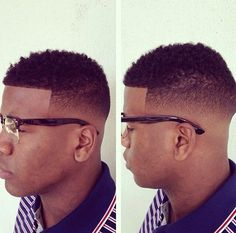 hairstyles on pinterest black men taper fade and black