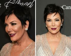 The Most Flattering Hairstyles Ever: Kris Jenner's Edgy Pixie