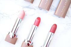 Marc Jacobs Beauty New Nudes Sheer Lip Gel Collection {Review}