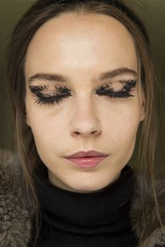 Peter Philips's painterly and playful take on a smoky eye at Fendi.