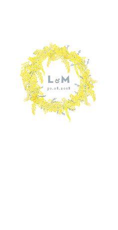 menu de mariage mimosa