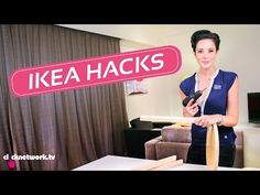 25 Coolest Hacks for All Your Favorite IKEA Products - YouTube
