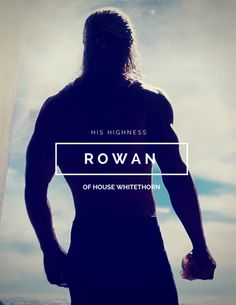 Rowan Whitethorn | Heir of Fire | Throne of Glass series by Sarah J Maas