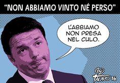 ITALIAN COMICS - La Vignetta d' Autore di Alfio Krancic e Tauro: elezioni 2016… #IoSeguoItalianComics #Satira #Politica #Humor #Comics #Italy #Rome #Elections #2016 #Renzi #Raggi
