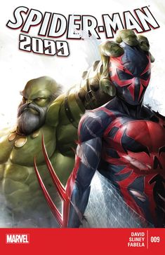 Spider-Man 2099 #9 cover