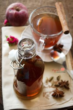 Spicy syrup for coffee (tea) Christmas Food Gifts, Polish Recipes, Coffee Drinks, Coffee Time, Korn, Hot Chocolate, Nutella, Food And Drink, Healthy Recipes
