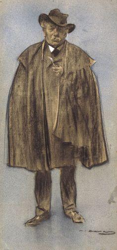Albert de Sicília Llanas by Ramon Casas i Carbó (Catalan/Spanish 1866-1932)