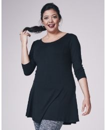 """""""Simply Be"""" Simply Be Textured Jersey Skater Tunic at Simply Be"""