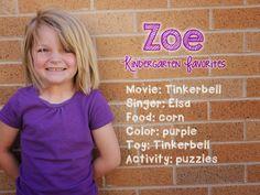 Kinder Kapers: Kindergarten Favorites....an End of the Year Keepsake