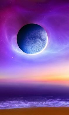 fantasy horse in sea and sky Fantasy Abstract Background Osho, Yin Yang, Computer Wallpaper, Hd Wallpaper, Science Fiction, Clearwater Revival, Nasa Images, Purple Sky, All Things Purple