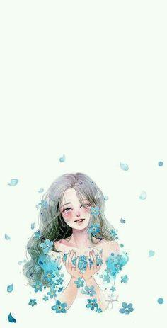 Art Anime, Anime Art Girl, Kawaii Wallpaper, Girl Wallpaper, Amazing Drawings, Cute Drawings, Aesthetic Anime, Aesthetic Art, Anime Girl Drawings