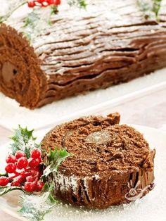 Il Tronchetto di Natale è un dolce francese delle Feste. E' così buono e scenografico che si ricorda nei mesi a venire, e si prepara tutto l'anno!!! #tronchettonatale