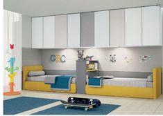 Composizione GRIFF10 cameretta completa - cameretta Kids Bedroom Designs, Kids Bedroom Sets, Kids Room Design, Girls Bedroom, Bedroom Decor, Shared Bedrooms, Kid Beds, Girl Room, Home Decor