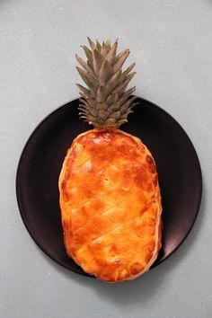 galette des rois originale ananas amande frangipane  Epiphanie 2017