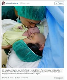 Chelsea Olivia Bahagia Anak Pertamanya Perempuan Unik di Angka 9