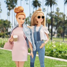 Sun's out, buns out! ☀️ #barbie #barbiestyle