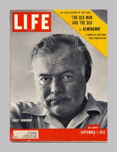 The Old Man and the Sea - 1st Print Appearance | Ernest Hemingway | Books Tell You Why, Inc.