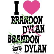 Beverly Hills 90210  Brandon or Dylan??? Who can choose...