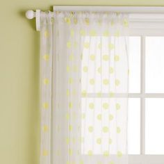 Sheers (available in coordinating colors) for letting in sunlight with keeping some privacy?