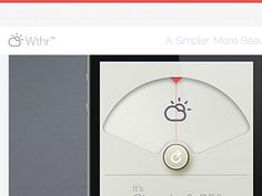 Dribbble - Holy Momma Sauce...is that a landing page to a real app? by David Elgena