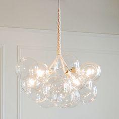 Bubble chandelier, Etsy 'PELLEshop'