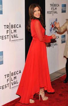 "Eva Mendes Photos - Tribeca Film & American Express Present The 2011 Tribeca Film Festival & Cinema Society Premiere Of ""Last Night"" - Zimbio"