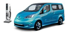FedEx to Test 100% Electric Nissan e-NV200