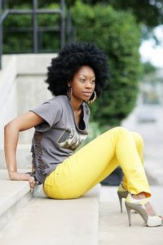 Natural Hair Natural Beauty: Happily Natural  #naturalhair