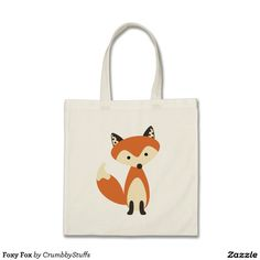 Foxy Fox Tote Bag