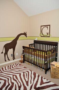 Janey Mac: Customer Photo - Safari Themed Nursery