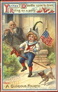 vintage+4th+of+july+die+cuts | 4th of july vintage cards | vintage 4th of july cards - Google Search ...