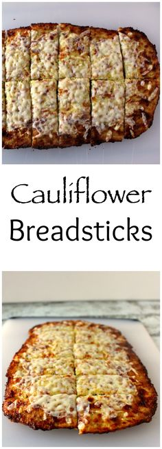 Cauliflower Breadsticks - who knew low carb could be so good