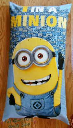 Your little Minion will love you even more when you make them this Minion Buddy Pillow! The KIT includes the pattern too...