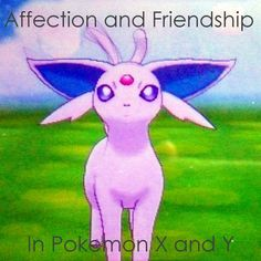 Learn the difference between affection and friendship in #PokemonX and #PokémonY and how they affect your #Pokemon!