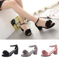 8feb6413a Весной девушки летом твердых цвета студент обувь не нескользкие пряжки  женские сандалии – купить по низким ценам в интернет-магазине Joom