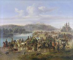 Jozef Heicke - Ruské vojsko pri Bratislave v roku 1849 Bratislava, Old Pictures, Oil On Canvas, Nostalgia, Paintings, History, Art, Art Background, Antique Photos