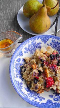 Baked Oatmeal & Quinoa #Breakfast #Oatmeal #Quinoa #Healthy