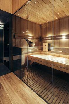 Bathroom Decor spa Gallery of Vibas Sauna / Spot Architects - 12 Design Sauna, Home Gym Design, House Design, Garden Design, Gym Room At Home, Home Gym Decor, Sauna Steam Room, Sauna Room, Basement Sauna