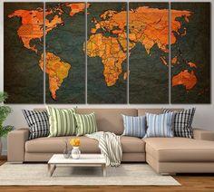 World Map №798