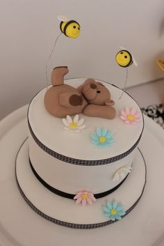 It is official, I want a teddy bear atop my birthday cake instead of candles.