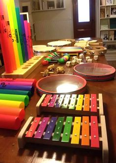 Boomwhackers in our store in lefkada, Greece