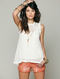 Free People Dear Brigette Top at Free People Clothing Boutique